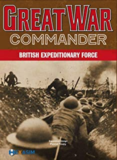 Hexasim HEX: British Expeditionary Force Kit for The Great War Commander Boardgame