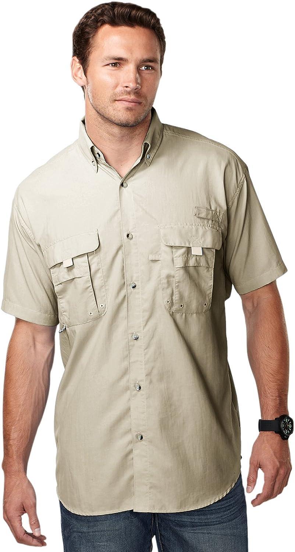 Big and Tall Nylon Fishing Shirts Fuller Cut with Longer Shirt Tails