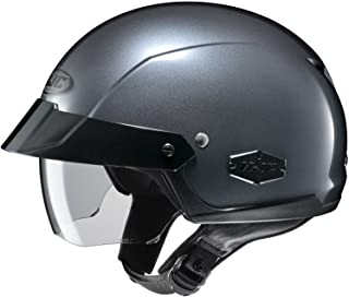HJC Solid Adult IS-Cruiser Harley Cruiser Motorcycle Helmet - Anthracite/X-Large