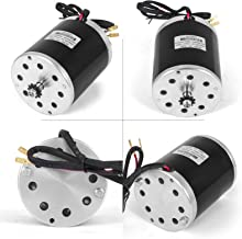 Mophorn 36V DC 1000 Watt Electric Brushed Motor with 11Tooth 25Chain Sprocket and Mounting Bracket TY1020 Type for Go Karts Scooters & E-Bike