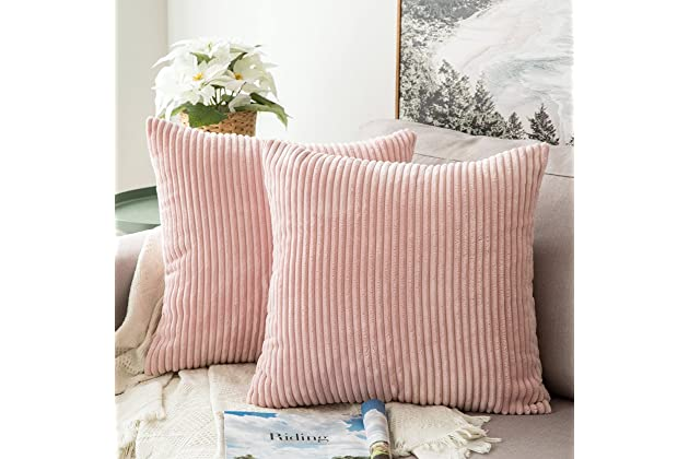 Best blush accent pillows for bed | Amazon.com