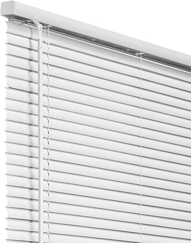 """wholesale CHICOLOGY Blinds for Windows , Mini Blinds , Window Blinds , Door Blinds , Blinds & Shades , Camper Blinds discount , Mini Blinds for Windows , Horizontal Window Blinds , Gloss White, 34"""" W X 84"""" lowest H sale"""