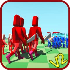 -Physics game -Perspective view -Incredibly fun -Strategy game -Real time battle -Red and Blue Team