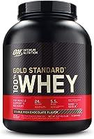Gold Standard 100% ホエイ プロテイン ダブルリッチチョコレート 2.27kg (5lbs) [米国メーカー正規品] [並行輸入品]