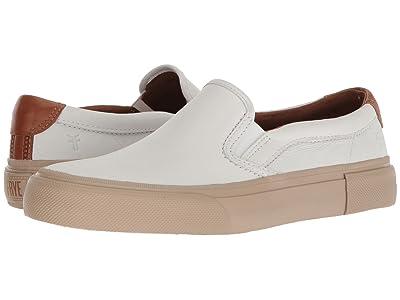Frye Ludlow Slip-On (White Sheep Leather) Men