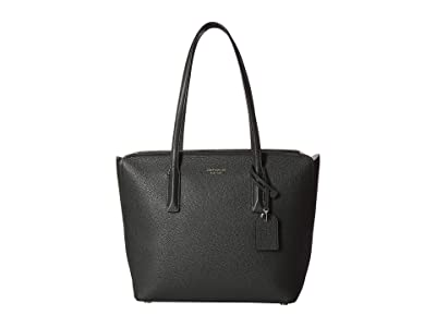 Kate Spade New York Margaux Medium Tote (Deep Evergreen) Handbags