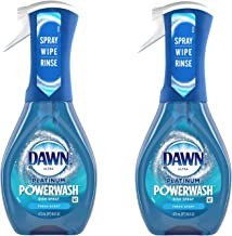 Dawn Platinum Powerwash Dish Spray, Dish Soap, Fresh Scent Bundle of 2