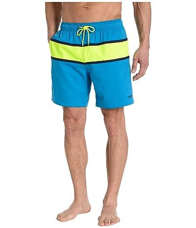Speedo Color-Block Redondo Volley 18 (Blue Lemonade) Men