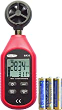 RockyMars RA30 Digital Anemometer Thermometer Handheld Wind Speed Gauge Used in Hiking, Sailing, Drone Pilot, Ventilation System, Weather Monitoring or as a Geology Science Kit, etc.