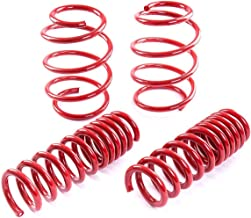 Fit 1989-1994 Nissan 240sx S13 Suspension Lowering Spring Red (Front -1.5