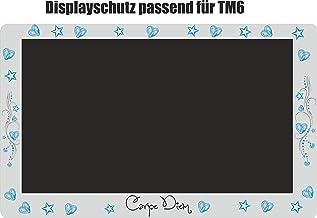 Displaybeschermfolie voor TM6 Carpe Diem lichtblauw