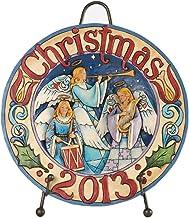 Jim Shore Angels Proclaim Good News Annual Plate 2013