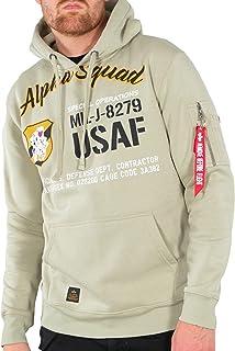 3xl Alpha Industries Uomo Hoody Camo Print Hoodie con Cappuccio Pullover Pullover S