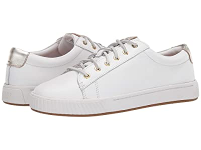 Sperry Anchor PlushWave LTT Leather (White) Women