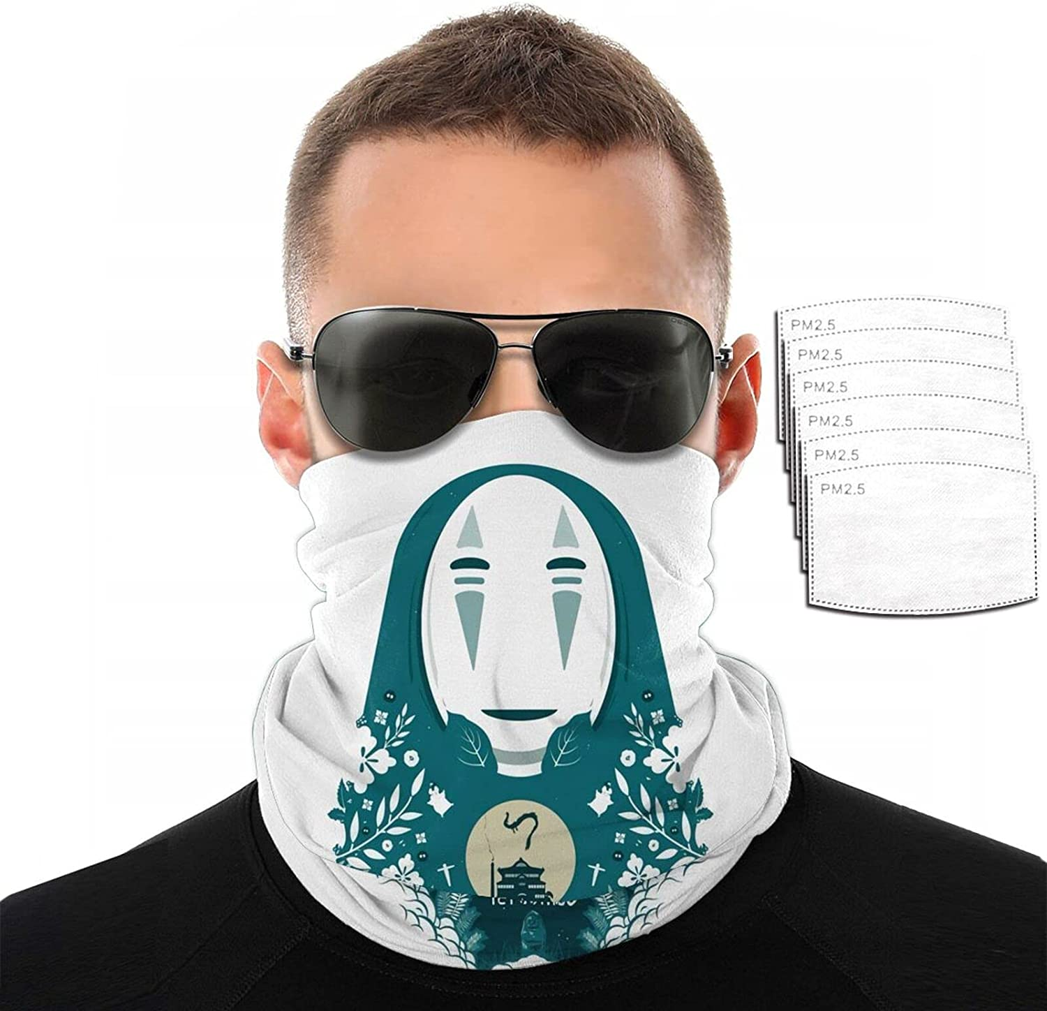 New mail order Anime Spirited Away No All items in the store Face Variety Towel Scarf Printing 3D