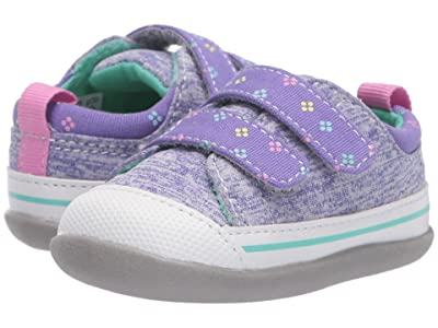 See Kai Run Kids Robyne (Infant/Toddler) (Purple Jersey) Girl