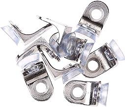 Accessoire-onderdelen 20 stks metalen plank support pegs glazen plank beugel pinnen montage brace Right hoek fixing kast o...