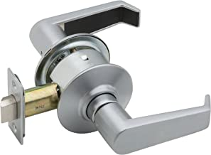 Schlage A10S LEV 626 Series A Grade 2 Cylindrical Lock, Passage Function, Keyless, Levon Design, Satin Chrome Finish