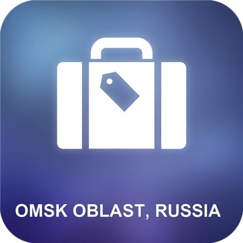 Omsk Oblast, Russia Karte