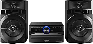 Panasonic 松下 SC-UX104EG 紧凑 CD 音乐系统,300瓦SC-UX104EG-K
