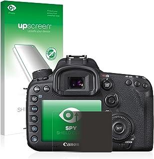 upscreen Protector Pantalla Privacidad Compatible con Canon EOS 7D Mark II Anti-Espia Privacy