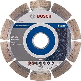 Bosch Professional Diamantkapskiva standard för sten (för sten, 125 x 22,23 x 1,6 x 10 mm, tillbehör vinkelslip)