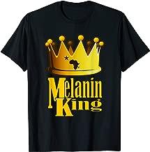 AFRICAN AMERICAN KING BIRTHDAY T-SHIRT MAN MELANIN COUPLE