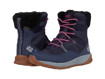 Jack Wolfskin Kids Polar Wolf Texapore High (Toddler/Little Kid/Big Kid) (Dark Blue/Grey) Kids Shoes