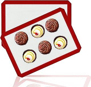 Xin zhe dian Tapis de Four et Cuisson en Silicone-Conçu pour Faire Pain/Macarons/Biscuits/Tartes sans BPA Anti-Adhérent To...
