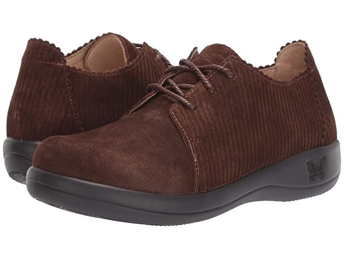 Alegria  Pyper (Capt. Corduroy Brown) Womens  Shoes