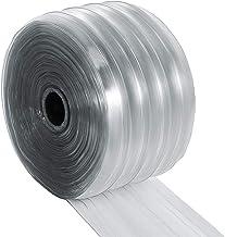 Mophorn PVC Strip Curtain, 147 Feet Length X 7.8 Inches Width 1 Roll Vinyl Strip Door Curtain, 0.1 Inch Thickness Clear An...