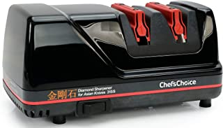Chef's Choice 0315001 Chef'sChoice 315S Professional Diamond Electric Knife Sharpener for Asian-Style Kitchen Knives, 2-Stage, Black