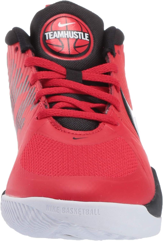   Nike Unisex-Child Team Hustle D 9 (Gs) Sneaker   Basketball
