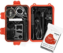 Gear in a Kit Emergency Survival 13 in 1 has the Mini Tools Needed for Those Unexpected Emergencies While Camping Hiking Scouting or Traveling in a Car & Small Enough to Fit in Those Compact Spaces