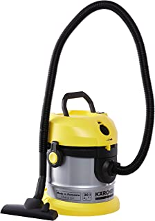 Karcher Bag-Less Powerful Vacuum Cleaner, Steel Body - VC 1.800 Yellow