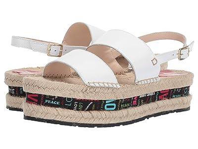 LOVE Moschino Platform Sandal (White) Women