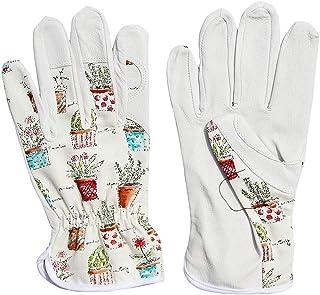 دستکش های محافظ بوم و چرم محافظ | طرح چاپ شاد بونسای مخصوص باغ زنان