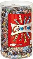 Celebrations Blisterbox | Mini-Schokoriegel Mix | 155 Pralinen in einer Box (1 x 1,435 kg)