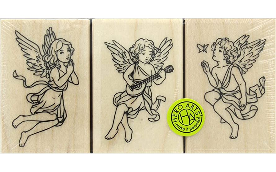 Hero Arts LP460 Rubber Stamp Set