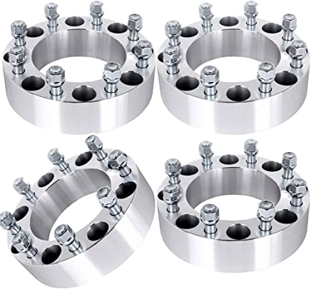 Wheel Spacers for ford,ECCPP 8x170 Wheel Spacers Adapter 4X 3 8 lug 75mm 8x170 14x1.5 Studs Wheel Spacers for Ford F-350//F-250 Super Duty 04-14
