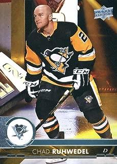2017-18 Upper Deck Series 2 #394 Chad Ruhwedel Pittsburgh Penguins Hockey Card