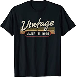 Vintage Made In 1960 T Shirt - Funny 59th Birthday Gift Idea