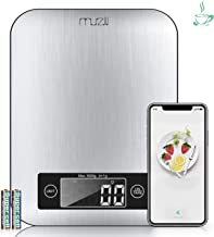 Muzili Nutritional Digital Kitchen Scale, 3 in 1 Functions as Smart Food Scale, Coffee Scale, Nutritional Scale for Keto, Macro, Calorie and Protein, Weight Loss, Bluetooth 4.2- Best Gift Choice