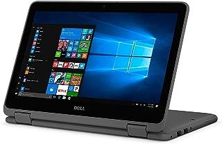 Dell Inspiron 11 3000 11.6inch HD Touchscreen 2-in-1 Laptop Computer, AMD Dual-Core A9-9420e Processor, 4GB DDR4, 128GB SSD, Bluetooth 4.0, USB 3.1, HDMI, MaxxAudio, Windows 10 (Renewed)