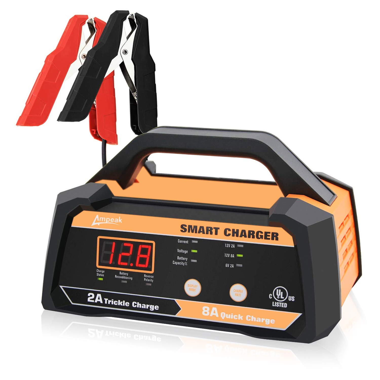 Ampeak Battery Charger Maintainer Automatic