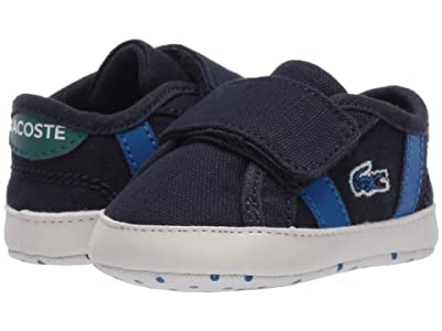 Lacoste Kids Sideline Crib 120 1 CUB (Infant/Toddler) (Navy/Green) Kid