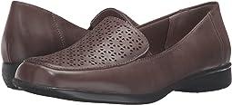 Sage Soft Nappa Leather/Pewter Metallic