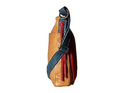 STS Crossbody Patriot Tostado Rojo Ranchwear Azul rYrqEaw