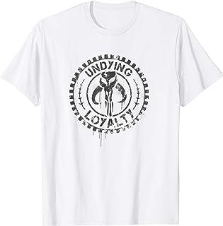 Star Wars Mandalore Clan Skull Undying Loyalty Badge T-Shirt