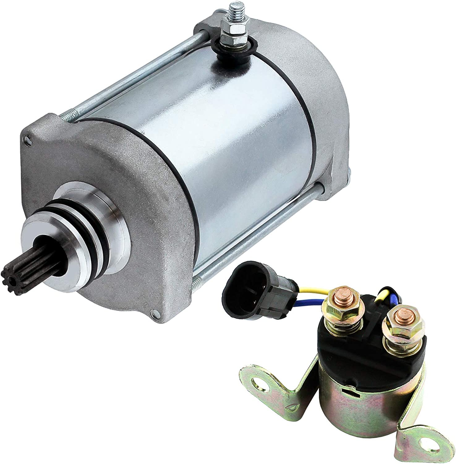 Caltric Starter W Relay Solenoid Compatible With 8 S service safety Rzr Polaris